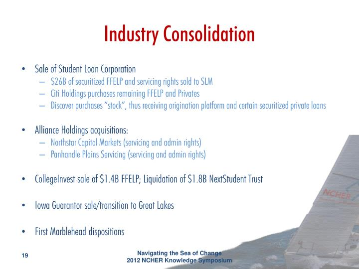 Industry Consolidation