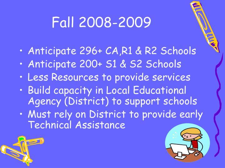 Fall 2008-2009