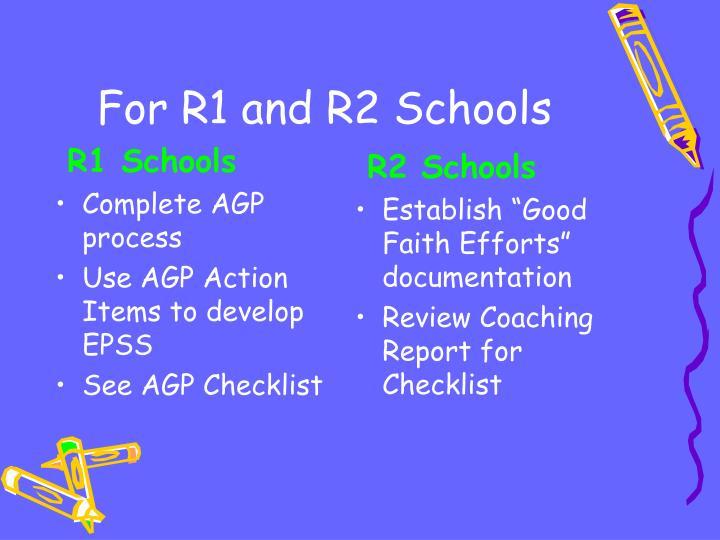 R1 Schools