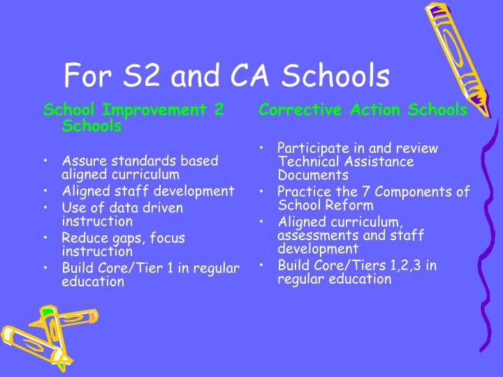School Improvement 2 Schools