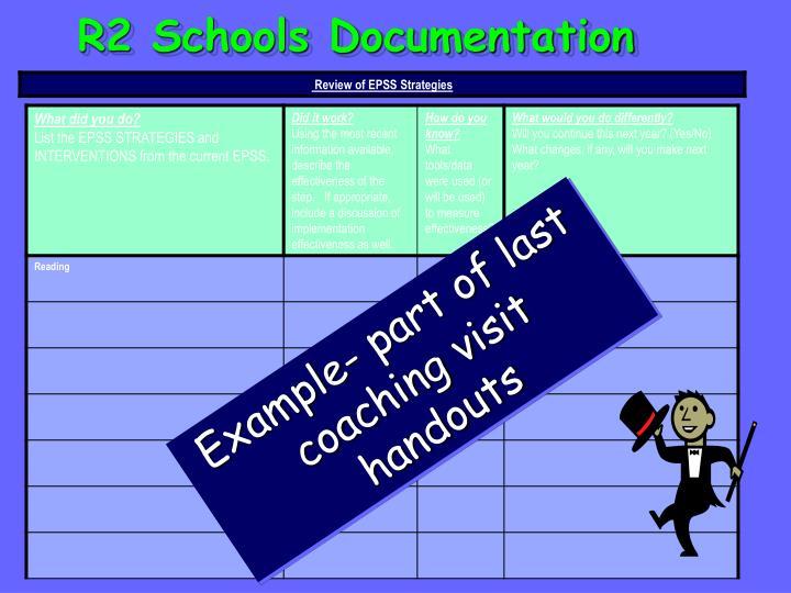 R2 Schools Documentation