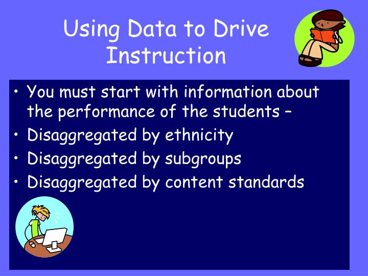 Using Data to Drive Instruction