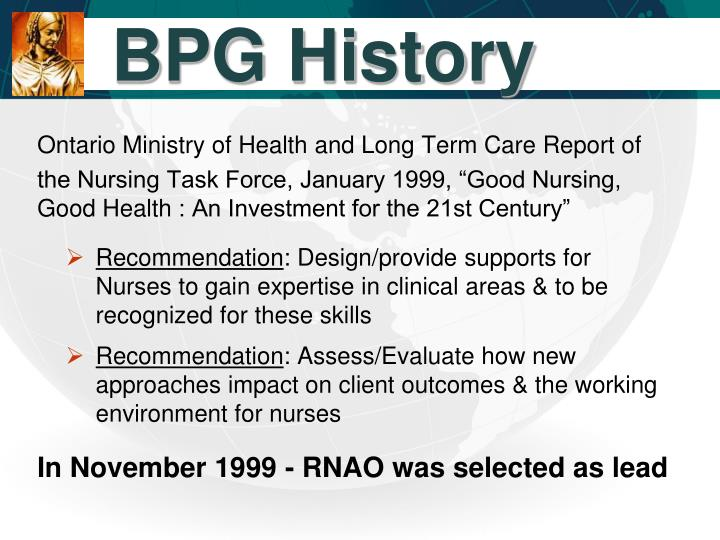 BPG History