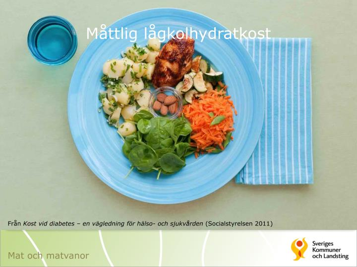 Måttlig lågkolhydratkost