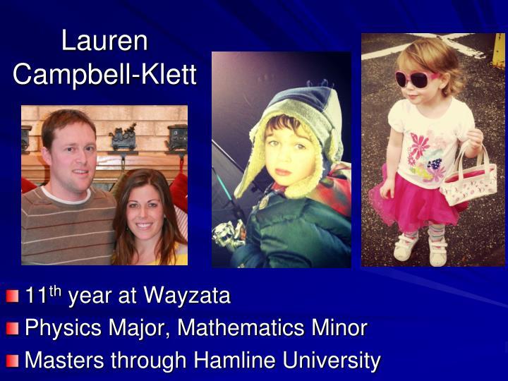 Lauren Campbell-Klett