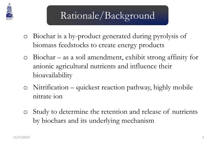 Rationale/Background