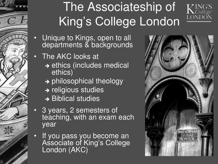 The Associateship of