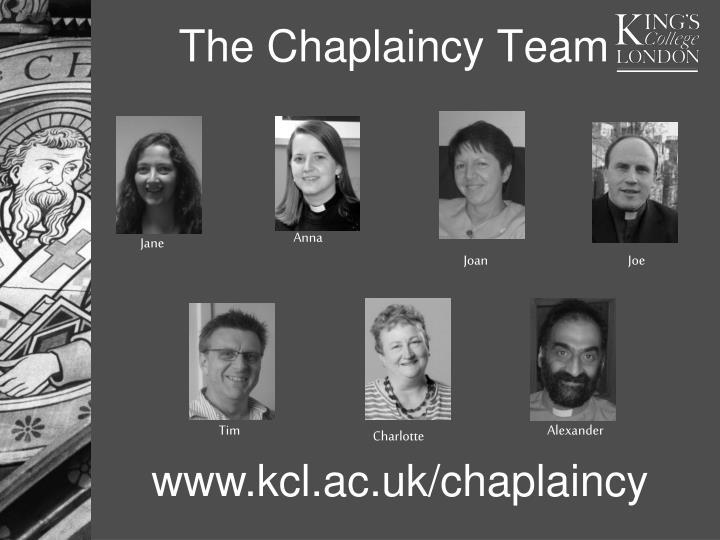 The Chaplaincy Team