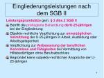 eingliederungsleistungen nach dem sgb ii3
