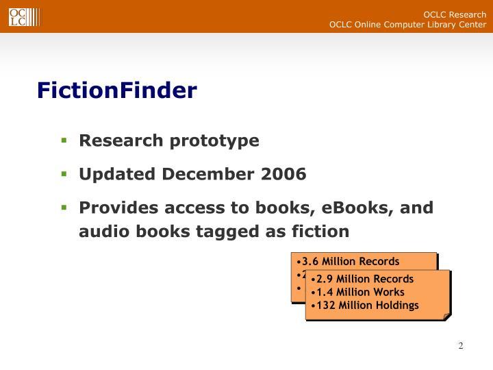 FictionFinder