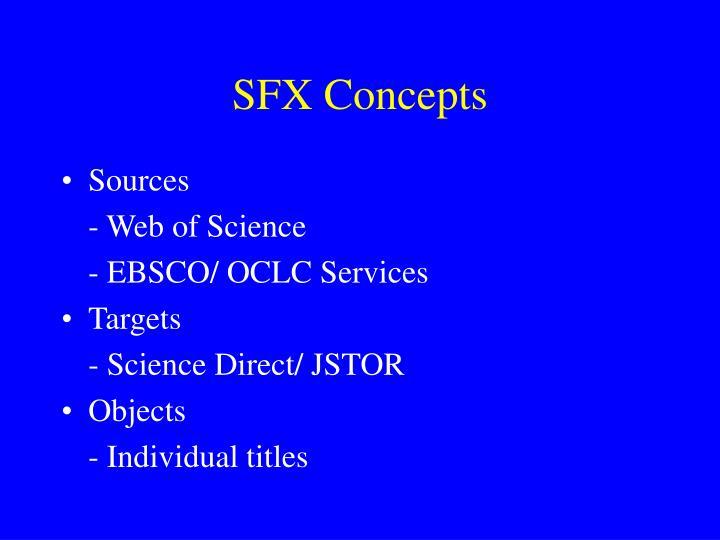 SFX Concepts