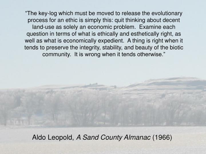 Aldo Leopold,
