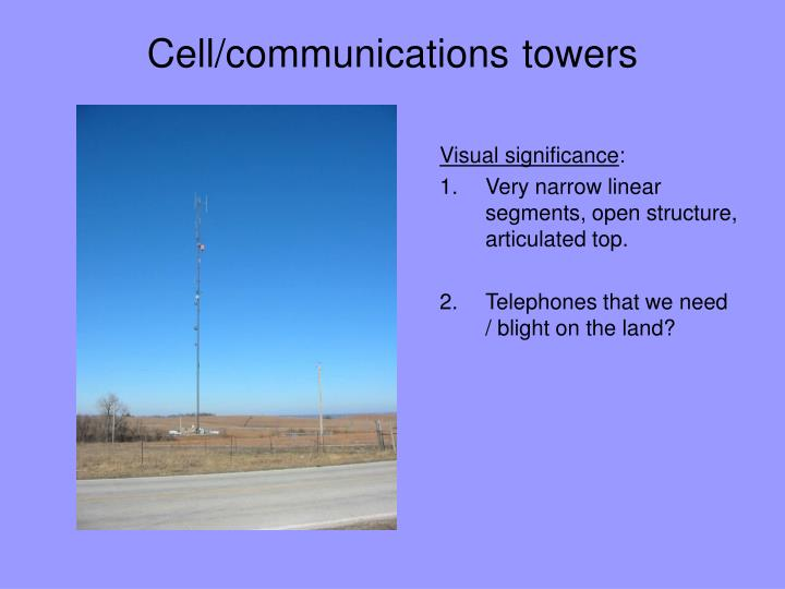 Cell/communications