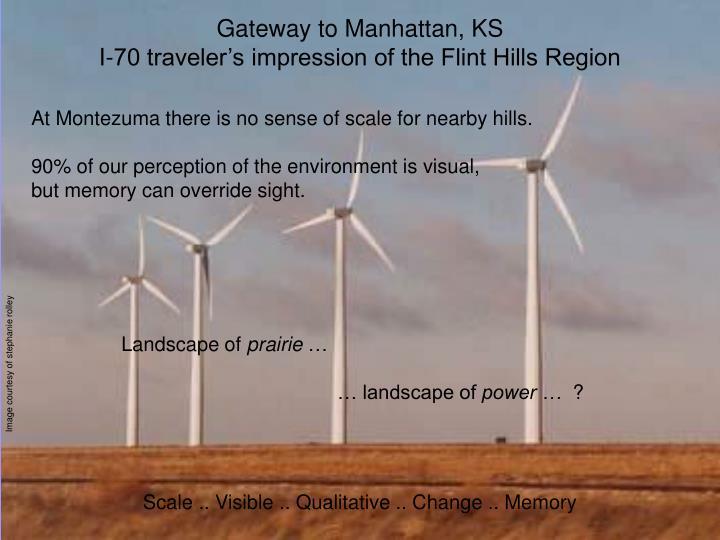 Gateway to Manhattan, KS