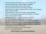 paul gipe s recommendations1