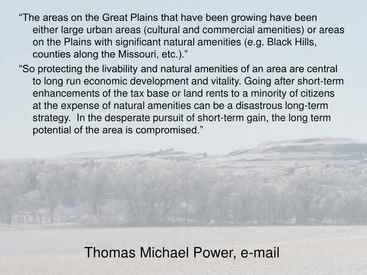 Thomas Michael Power, e-mail