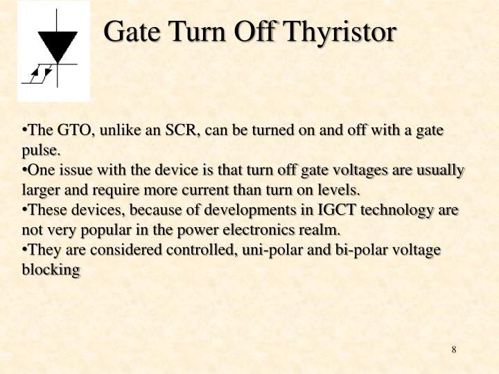 Gate Turn Off
