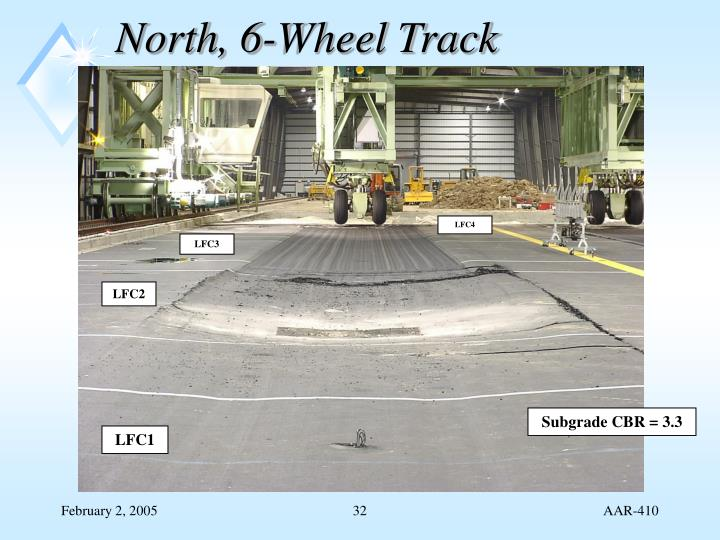 North, 6-Wheel Track