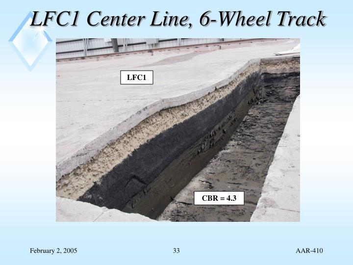 LFC1 Center Line, 6-Wheel Track
