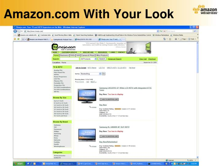 Amazon.com With Your Look