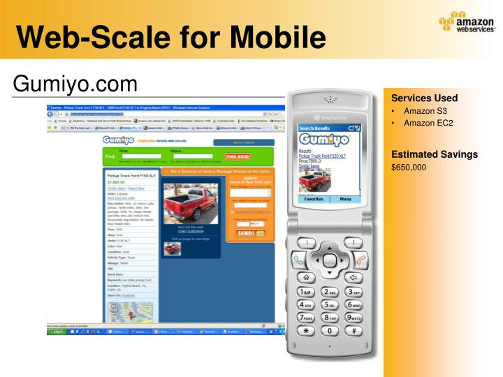 Web-Scale for Mobile