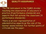 quality assurance10
