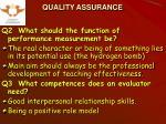 quality assurance14
