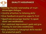 quality assurance16