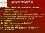 quality assurance3