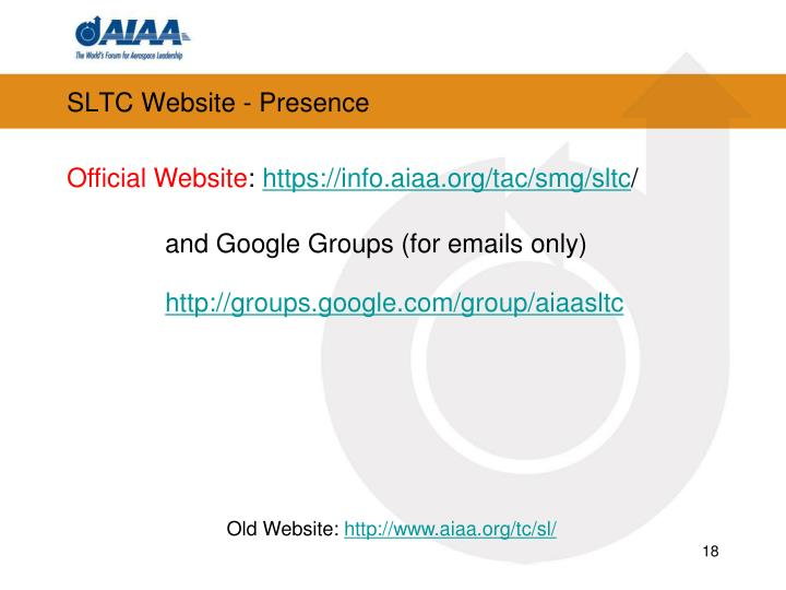 SLTC Website - Presence
