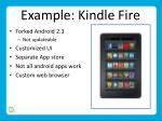 example kindle fire