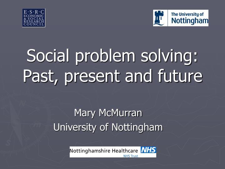 Social problem solving: