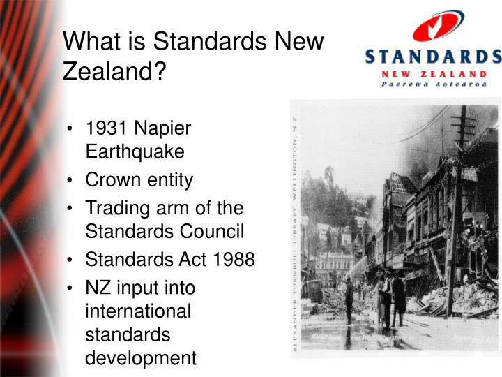 What is Standards New Zealand?