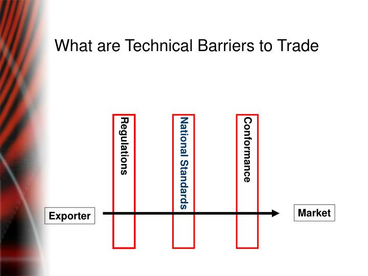 What are Technical Barriers to Trade