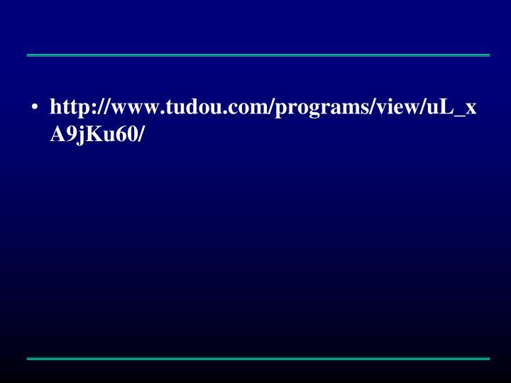 http://www.tudou.com/programs/view/uL_xA9jKu60/
