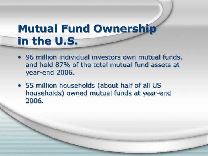 Mutual Fund Ownership