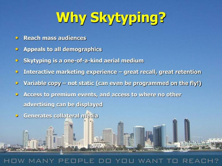 Why Skytyping?