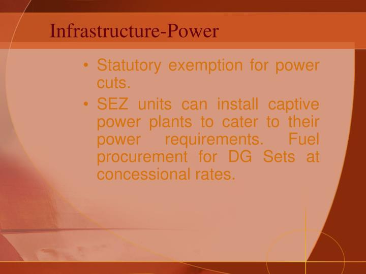Infrastructure-Power
