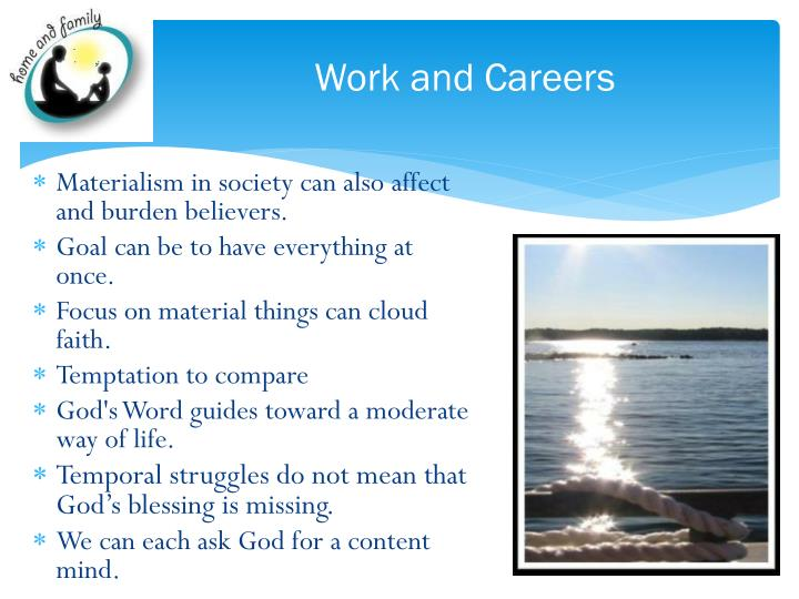 Work and Careers