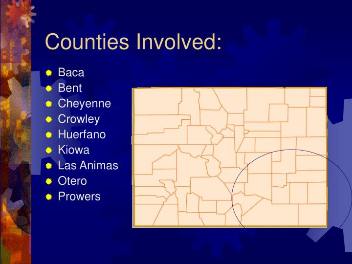 Counties Involved: