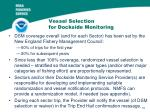 vessel selection for dockside monitoring
