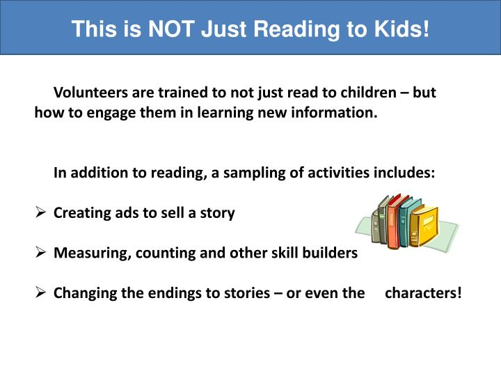This is NOT Just Reading to Kids!