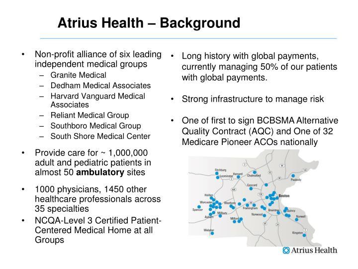 Atrius Health – Background