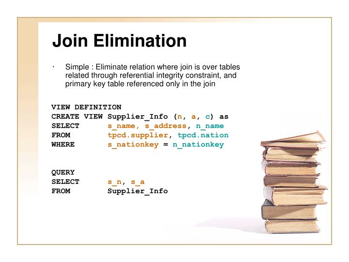 Join Elimination
