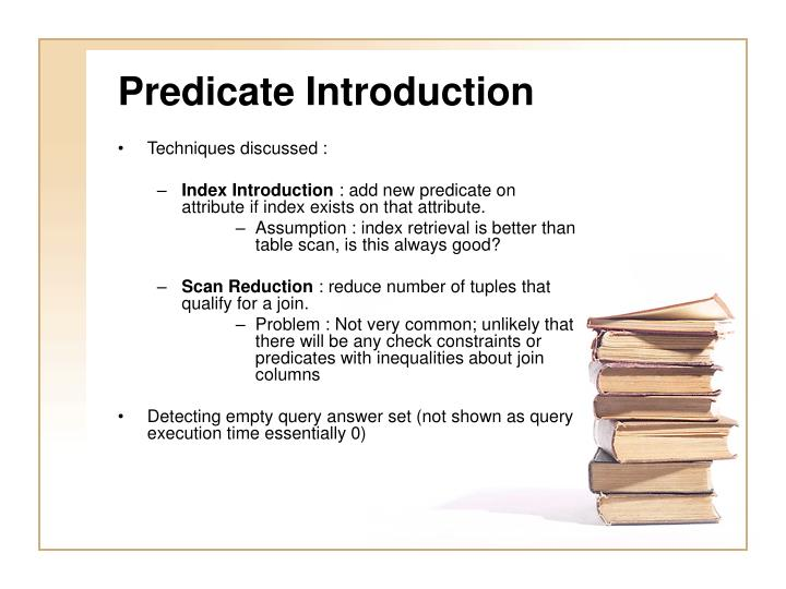 Predicate Introduction