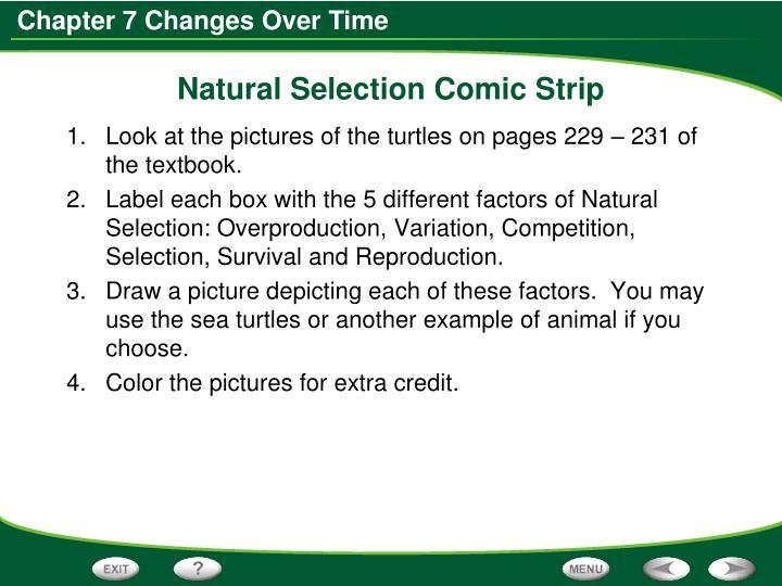 Natural Selection Comic Strip