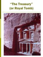 the treasury or royal tomb