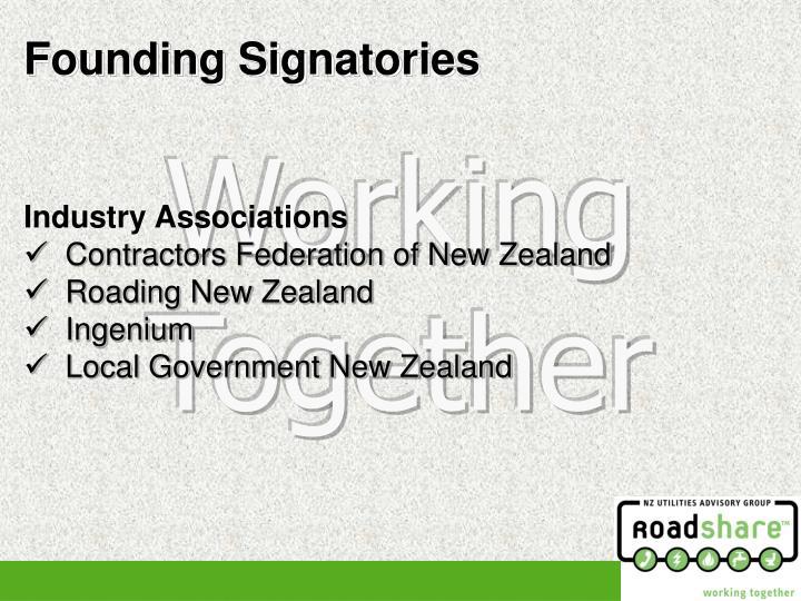 Founding Signatories