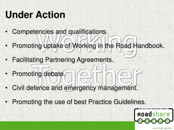Competencies and qualifications.