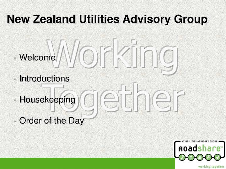 New Zealand Utilities Advisory Group